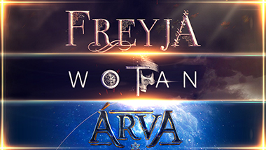 FREYJA, WOTAN AND ARVA