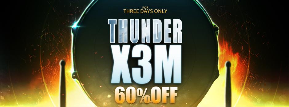thunderx3m flash