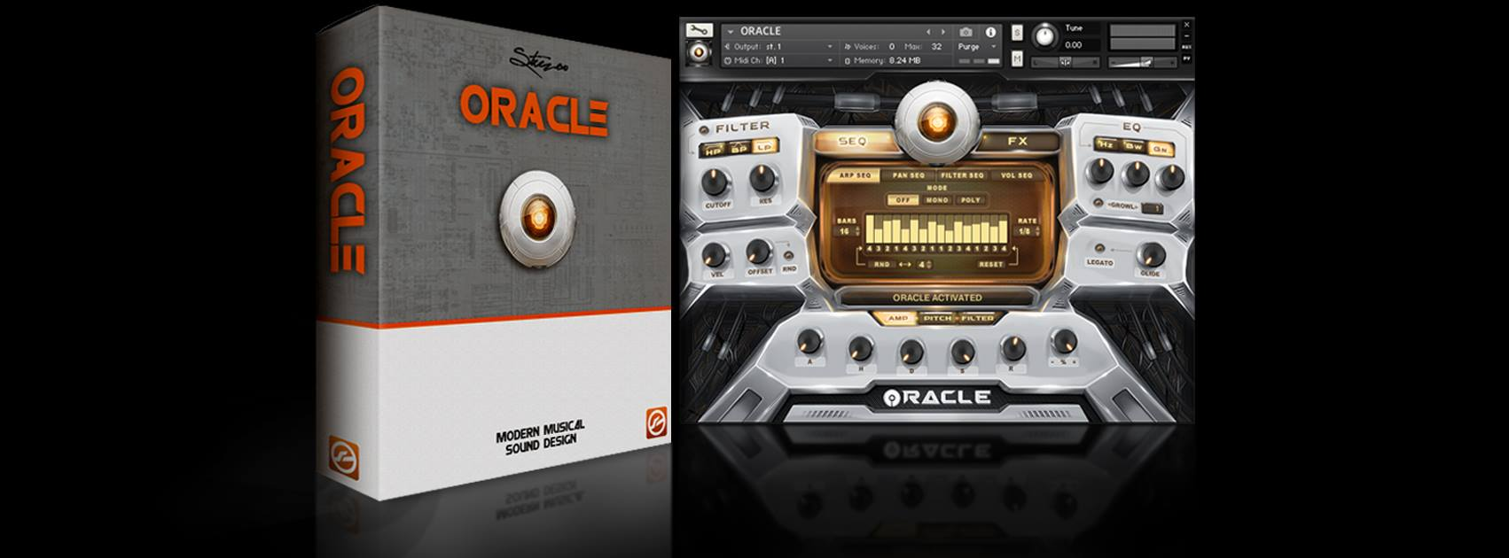 ORACLE: Modern Sound Design library